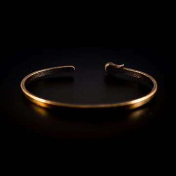 Bracciale rigido Damasco in bronzo