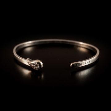 Bracciale rigido Damasco Silver